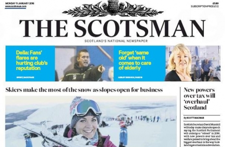 Scotsman, FT and Spectator back No vote ahead of Scottish independence referendum