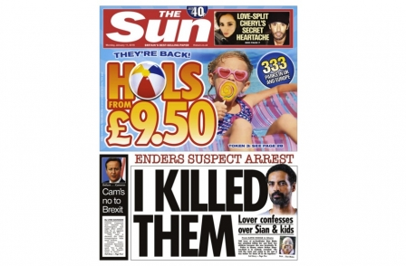Why Sun's 'I killed them' front page on alleged EastEnders actress killer was safe under Contempt of Court