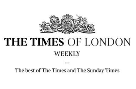 News UK launches The Times of London Weekly international digital edition