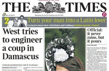 The Times, paywalls and social media