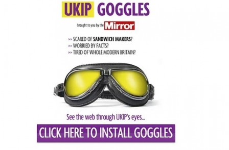 Mirror's 'UKIP Goggles' app backfires turning Ireland into 'Our first colony' in captions