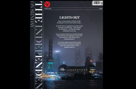 Independent on Sunday bows out after 26 years with Cameron interview and striking front page