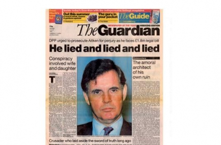 23. British journalism's greatest ever scoops: Jonathan of Arabia (World in Action, David Leigh, 1995)