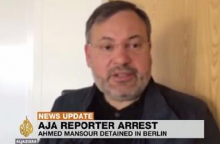 Al Jazeera journalist imprisoned in Germany after Egypt arrest request