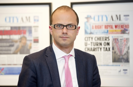 City AM editor Allister Heath leaves after six years to join Telegraph as deputy editor