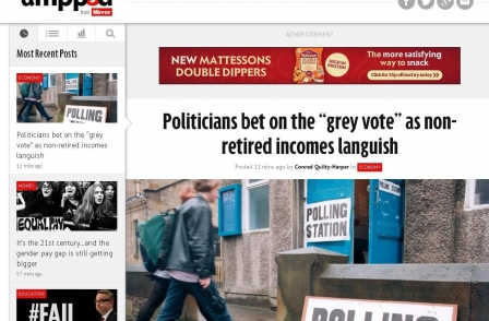 Trinity Mirror's data journalism website Ampp3d part of 'continuous experiment' says product director Coles