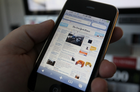 How has the iPhone changed the way we read news? And other questions.