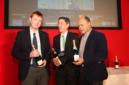 Double British Journalism Award winner George Arbuthnott: 'It's about ringing the phones as hard as you can'