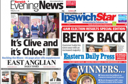 Archant dailies bring out 6am general election breakfast editions