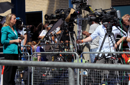 News of royal birth can't come quick enough for world's weary press pack