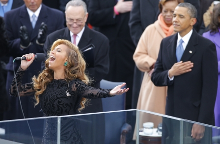 How a British Times journalist beat the US press to Beyoncé inauguration mime scoop