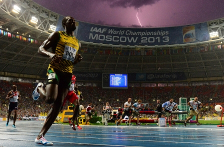 AFP's Usain Bolt lightning photo: 'If I tried for another 50 years, it would never happen again'