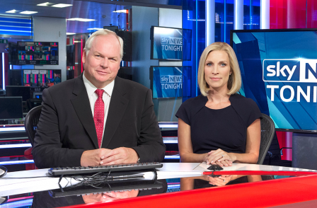 Adam Boulton-fronted 'serious' and 'high production' Sky News Tonight to go  up against Channel 4 News from 1 Sept