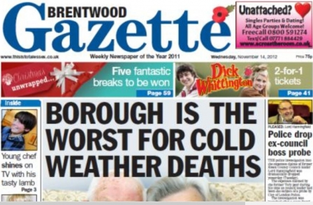 Northcliffe South East research suggests most journalism trainees leave local newspapers within five years
