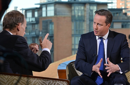 Cameron threatens injunctions and other 'tough measures' if Guardian fails to show 'social responsibility' over Snowden leaks