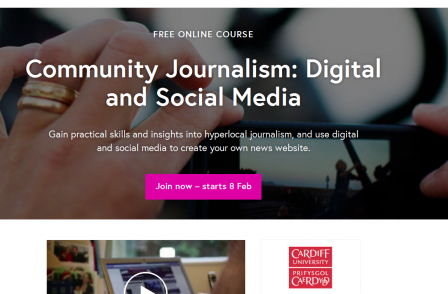 Cardiff University launches free online course in community journalism