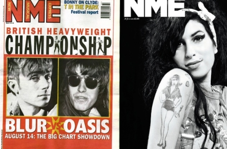NME's 60th anniversary: Editor picks out his two favourite front covers