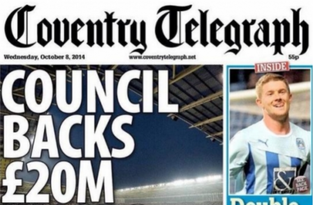Coventry Telegraph journalists reject suggestions paper has been 'gagged' and 'censored'