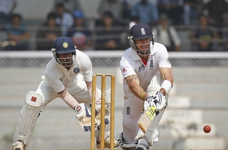 UK press in Indian test match pics boycott