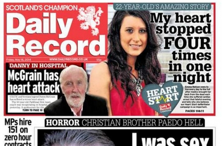 PCC: Daily Record misled readers by removing lifeboat man accused of poaching from pic