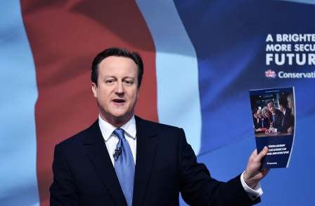 Conservative manifesto pledges protection for journalists under bill of rights and makes no Leveson commitments