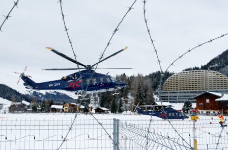 BBC journalists questioned by police over use of drone in Davos no-fly zone