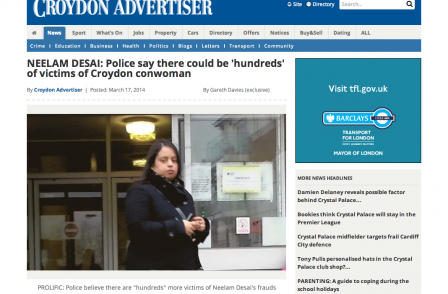 'Death-blow to the public's right to know': Support grows for Croydon journalist in police harassment warning