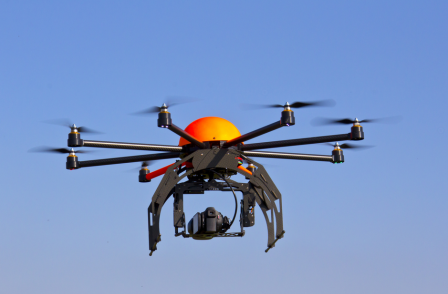 How aerial drones are becoming the latest 'essential tool' for UK news organisations