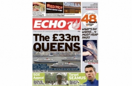 Regional press ABCs, dailies: Liverpool Echo's positive relaunch has negative impact on sales