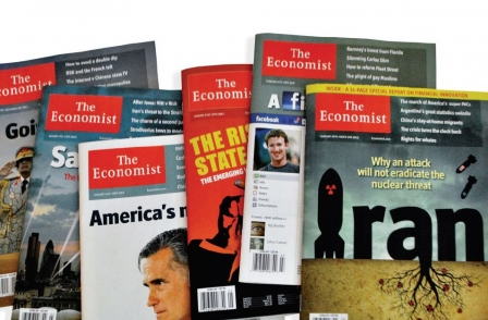 The Economist boasts 1.5m magazine circulation and 36m social media followers