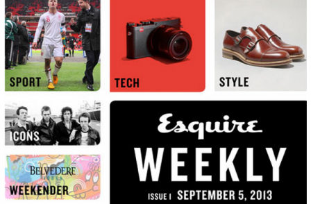 Esquire bids to counter falling print sales with weekly iPad edition