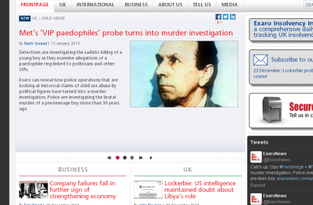 Daily Mail says Exaro staff should be 'profoundly ashamed' of VIP paedophile 'lie'