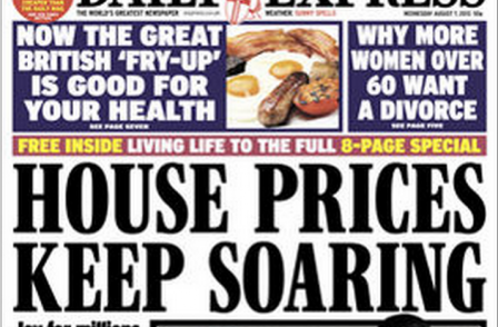Groundhog day: Why Daily Express front pages may leave readers with a sense of deja vu