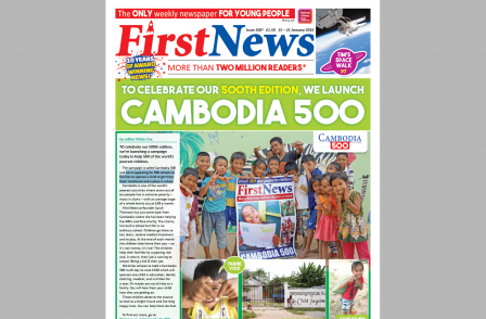 Kids' weekly publishes 500th edition: 'The next generation will grow up reading print thanks to First News'