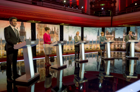 Lib Dems: We weren't invited to BBC debate - BBC: All parties agreed to the format