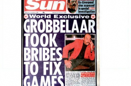 21. British journalism's greatest ever scoops: Grobbelaar took bribes to fix games (The Sun, John Troup and Guy Patrick, 1994)