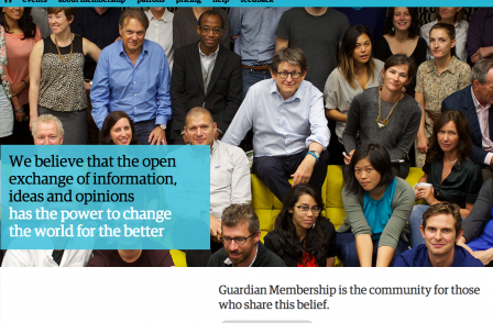 Times dep ed: 'The Guardian club's an interesting one... because you don't get very much for being a member'