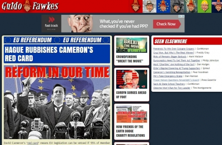 Guido Fawkes Sun column ends, but editor Paul Staines says: 'The appetite for political scandal is back'