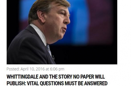 Press reform campaigners attacked as 'worthless hypocrites' over stance on John Whittingdale's private life