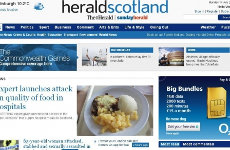 Glasgow's Herald trumpets regional press paywall success with 10,000 subscribers