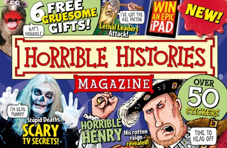 Horrible Histories to launch children's magazine