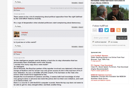 Defamation Act provides new defence for website comments...but editors would be daft to use it