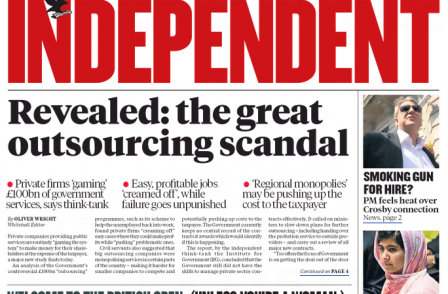 Independent management warns journalists print edition in question beyond 2015 unless cuts made