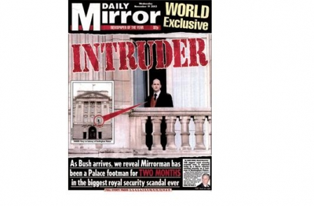 34. British journalism's greatest ever scoops: 'Intruder at the Palace' (Daily Mirror, Ryan Parry, 2003)