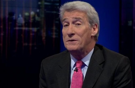 Jeremy Paxman appears on Newsnight clean-shaven claiming 'beards are so 2013'