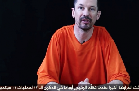 Third video appears featuring British journalist held by Isis John Cantlie
