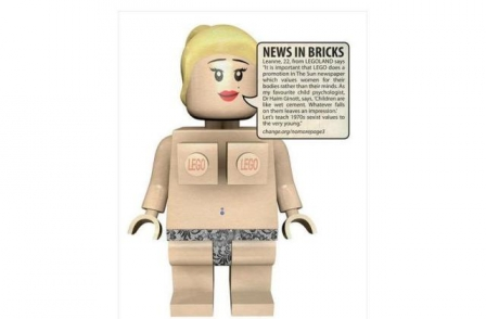 Lego defends Sun promotion after pressure from anti-Page Three campaign