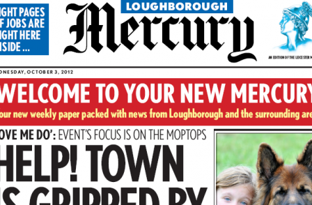 Leicester Mercury launches paid-for weekly covering Loughborough