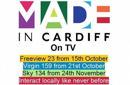 Eighth local TV station for the UK launches in Cardiff