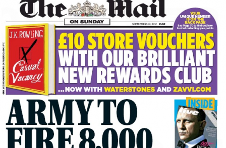 Former college head sues Mail on Sunday over 'Ayatollah of the RAF' story